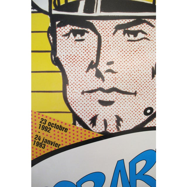 Image of 1992 Roy Lichtenstein and Mel Ramos Pop Art Exhibition Poster