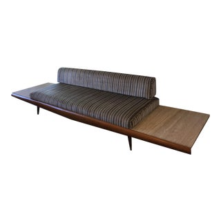 Vintage Danish Modern Marble Sofa