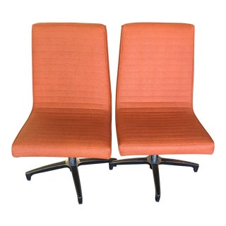 Vintage Chromcraft Swivel Chairs - A Pair