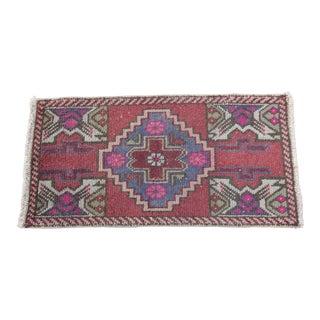 Antique Turkish Carpet - 1′6″ × 3′1″