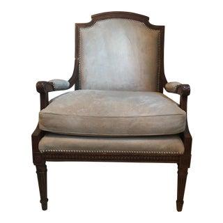 Hand Made Beige Club Chair