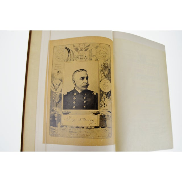 Antique 1899 The Life and Letters of Admiral Dewey Illustrated Book Spanish American War Manila Bay - Image 7 of 9