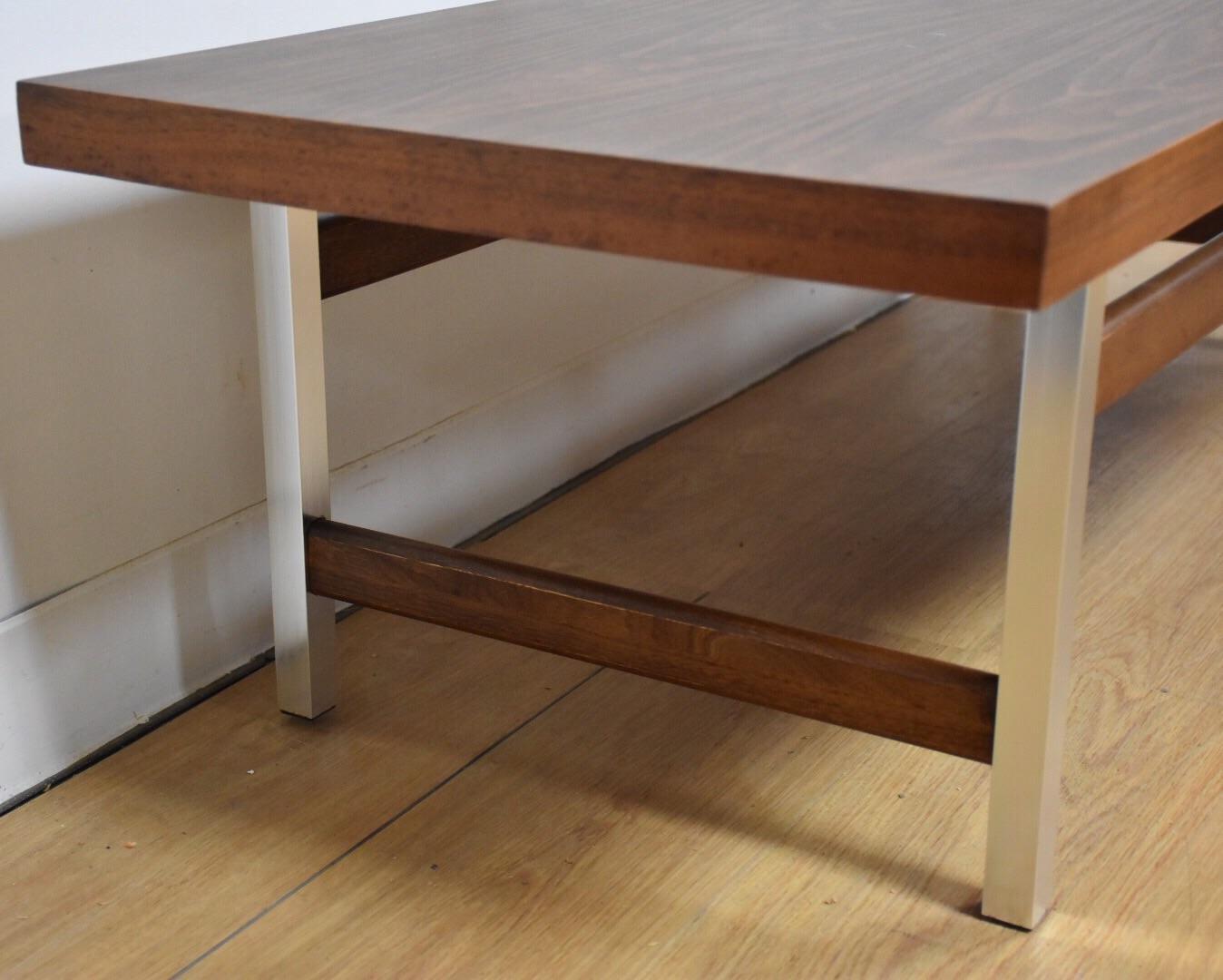 Lane Formica U0026 Aluminum Coffee Table   Image 3 ...