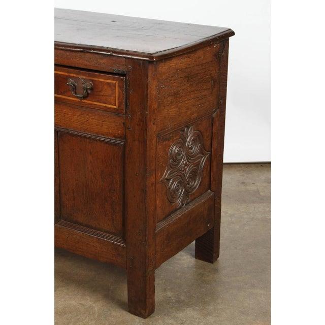 Image of 19th Century English Oak Sideboard