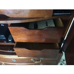 Image of Baker Stately Homes Mahogany Chippendale Armoire