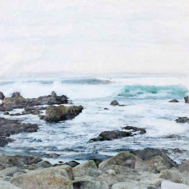 'Crashing' Photo Encaustic Painting - Image 1 of 4