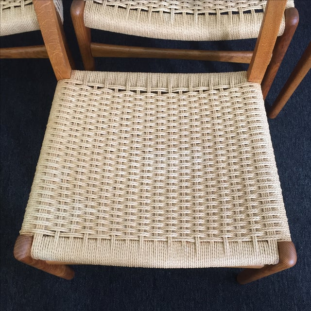 Hans Wegner CH-23 Dining Chairs - Set of 4 - Image 4 of 9