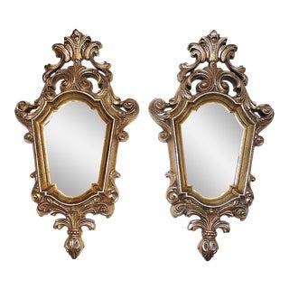 Hollywood Regency Mirrors - A Pair