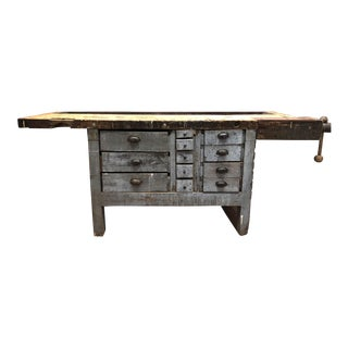 Vintage Workbench Sideboard
