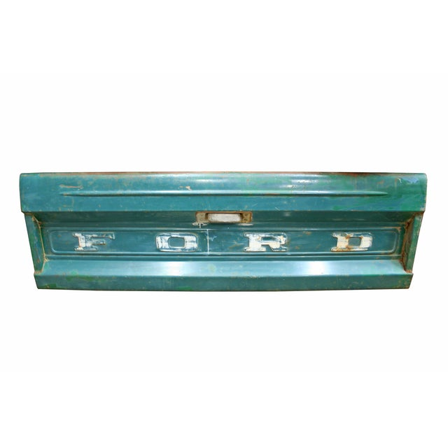 Image of Vintage Ford Truck Tailgate