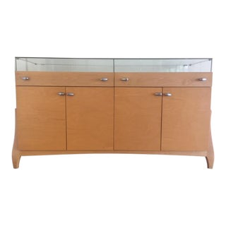 Modern Solid Wood Credenza