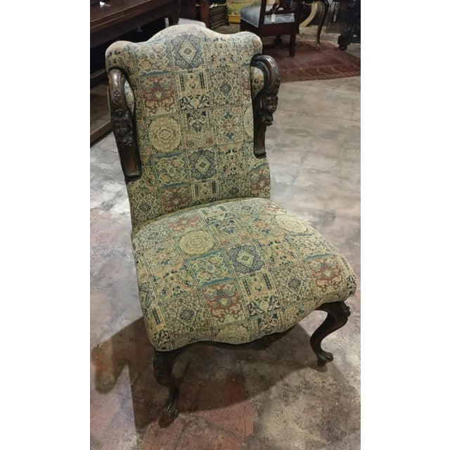 19th Century Victorian Tapestry Chairs - A Pair - Image 8 of 10