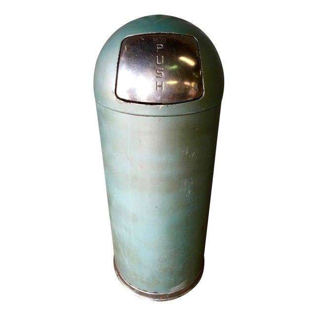 Vintage United Metal Trash Can - Image 1 of 11