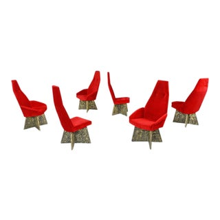 Adrian Pearsall Brutalist Dining Chairs - Set of 6