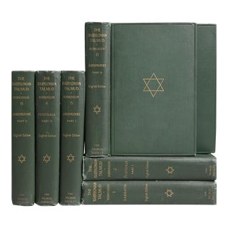 The Babylonian Talmud Book Collection - Set of 7