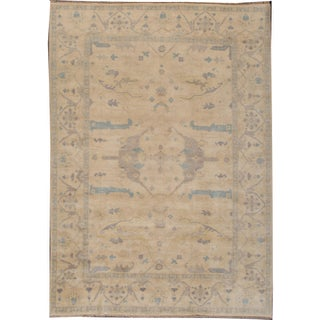 Turkish Oushak Modern Rug - 10' X 13'5""