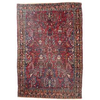 RugsinDallas Persian Sarouk Wool Rug - 3′2″ × 4′4″