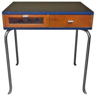 Vintage Science Lab Desk