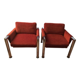 Mid-Century Modern Side Chairs - A Pair