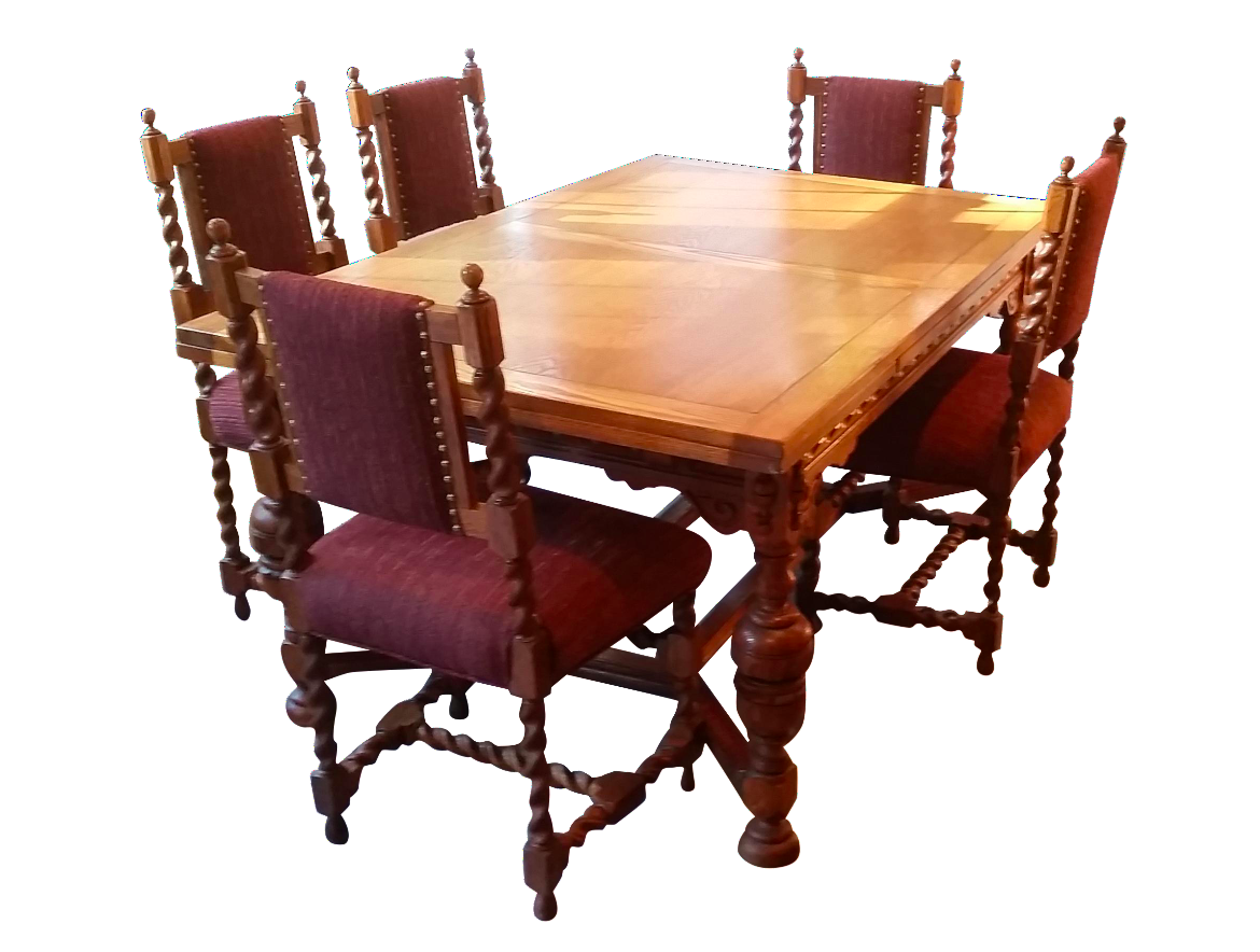 jacobean revival dining room set antique vintage jacobean dining room set 9 pc set table