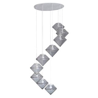 Monumental Nine Tier Chandelier by RAAK
