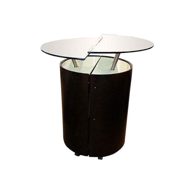 Modern Expanding Bar Cabinet - Image 1 of 5