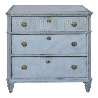 Swedish Chest of Drawers in Blue #52-01
