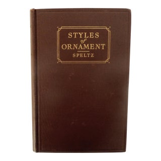 1936 Styles of Ornament Book
