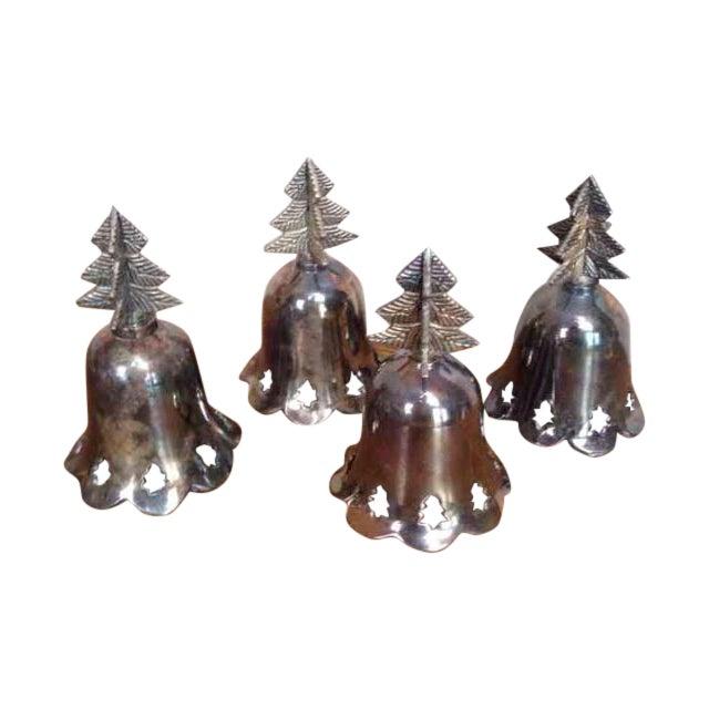 Vintage Silverplated Bells - Set of 4 - Image 1 of 5