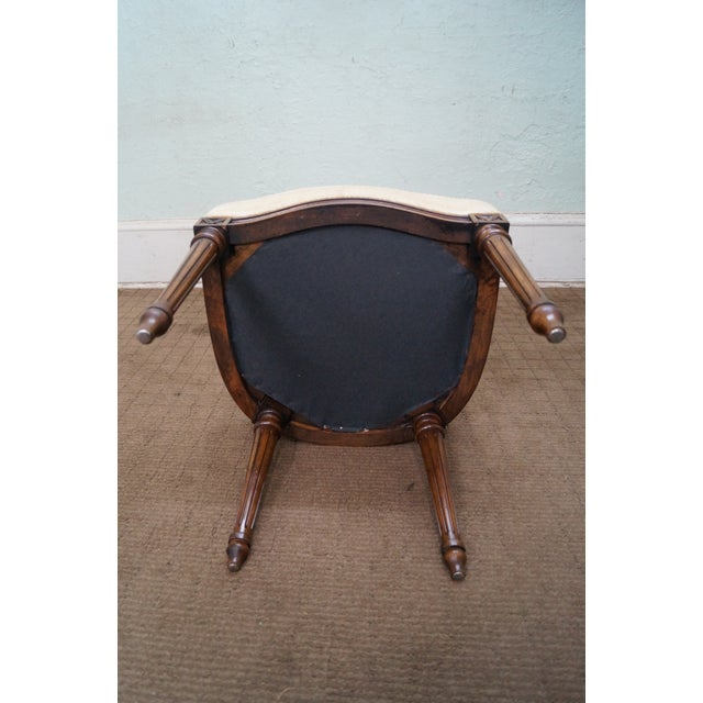 Image of Karges Walnut French Style Walnut Dining Chair - 4