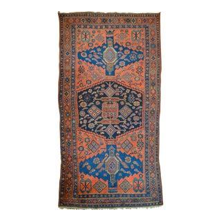 """Antique Persian Bidjar Long Rug - 4'5"""" x 8'3"""""""