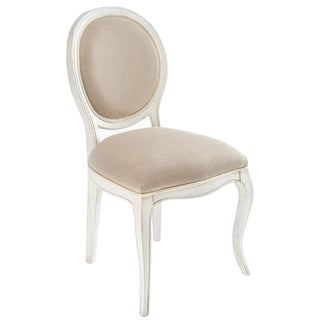 Sarreid LTD Transitional Oval Back Side Chair