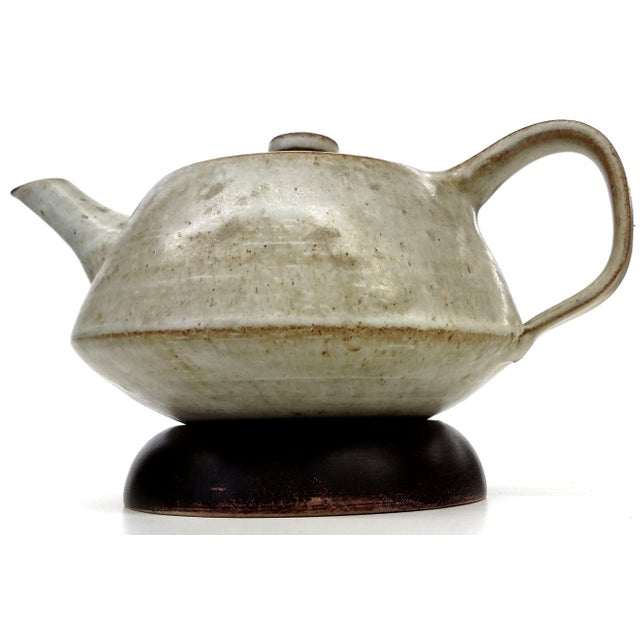 Artisan Stoneware Tea Pot - Image 8 of 10