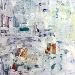 Paul Ashby Modern Abstract Oil Painting