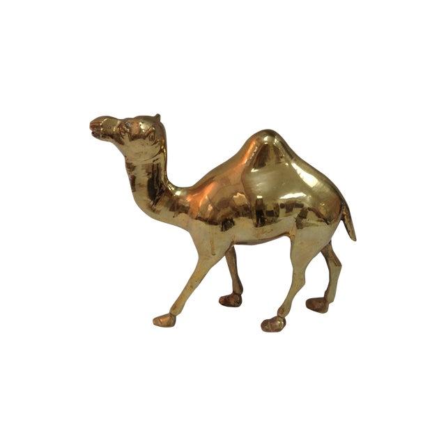 Modern Brass Camel - Image 1 of 3