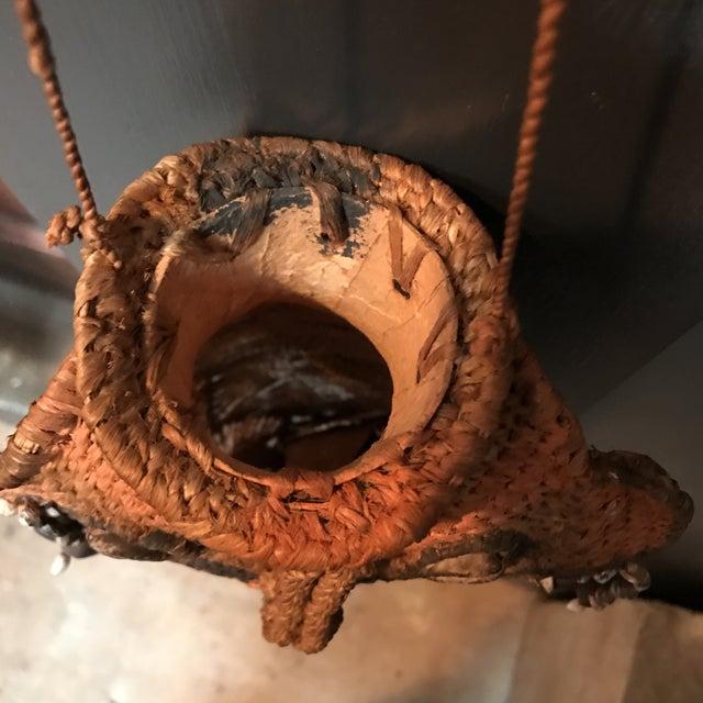 Image of Hanging African Mask Vase
