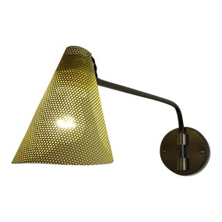 Pair of French Perforated Wall Lamps