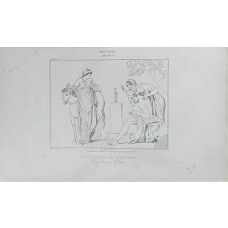 1840 Aine H. Roux Antique Print