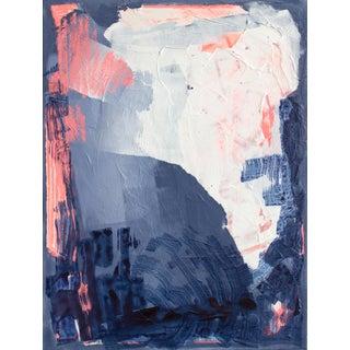 """Bioluminescent 5"" Abstract Acrylic Painting"