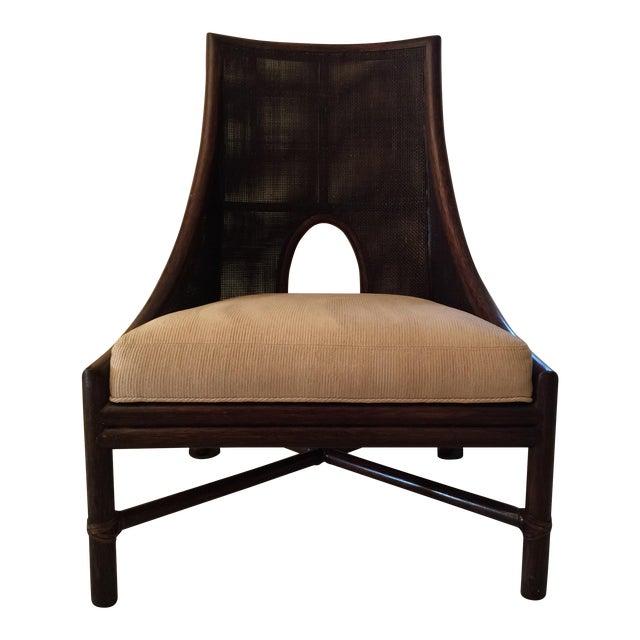 Barbara Barry Slipper Chair McGuire Furniture  Chairish