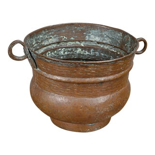 19th Century Copper Spittoon