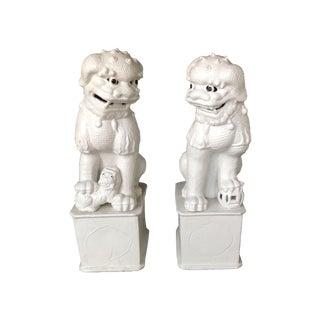 1800s Antique Fu Dogs - A Pair