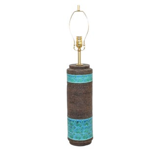 Mid-Century Bitossi Raymor Ceramic Lamp