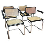 Image of Marcel Breuer-Style Armchairs - Set of 4