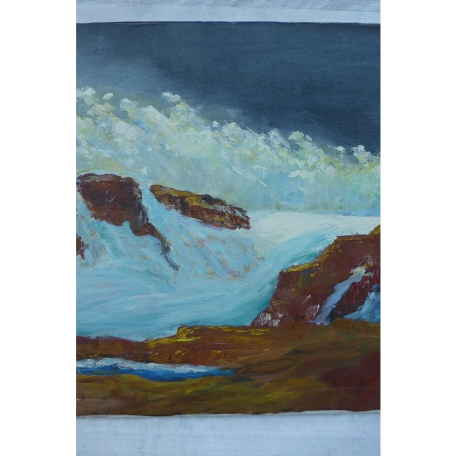 Image of MCM Ocean Waves Painting by H.L. Musgrave