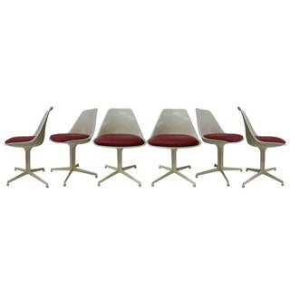 Burke Chairs Style of E. Saarinen - Set of 6
