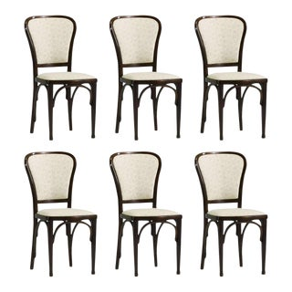 Dining Chairs by Gustav Siegel for Thonet, 1910 - Set of 6