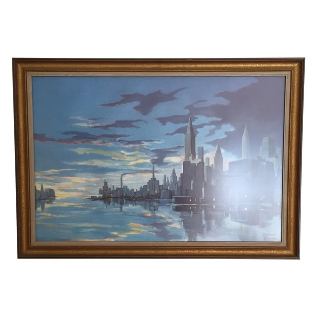 Blumenthal Cityscape Framed Print - Image 1 of 4