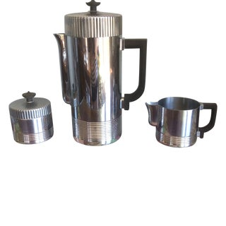 Chase Art Deco Coffee Service