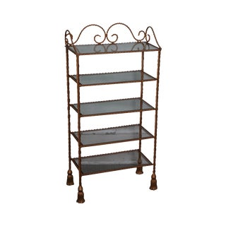 Hollywood Regency Italian Gilt Etagere